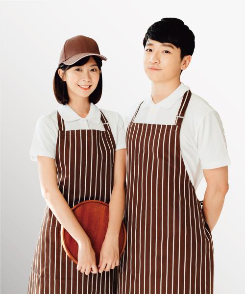 咖啡廳制服圍裙客製