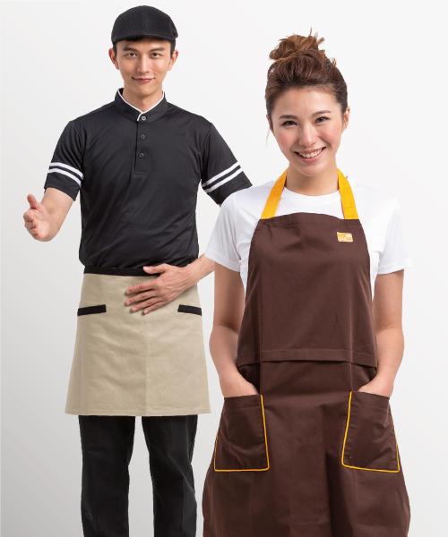 廚師職人工作圍裙客製