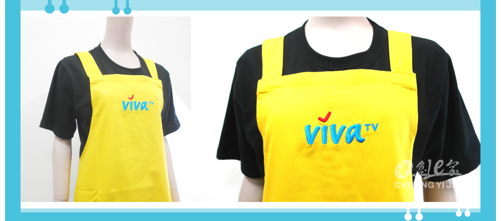 創意家團體服客戶案例VIVA 日式圍裙