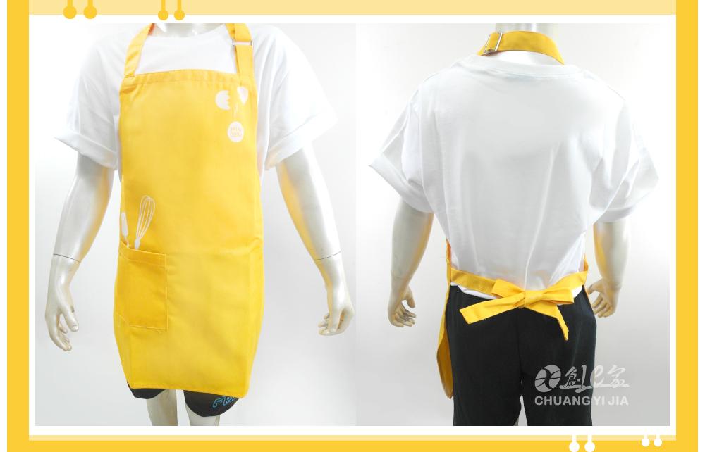 創意家團體服客戶案例MINI 小朋友繞頸圍裙