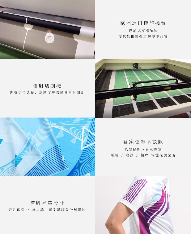 台灣創意家熱昇華滿版轉印,台灣創意家服飾,團體制服訂製,團體服客製化,MIT台灣工廠製造