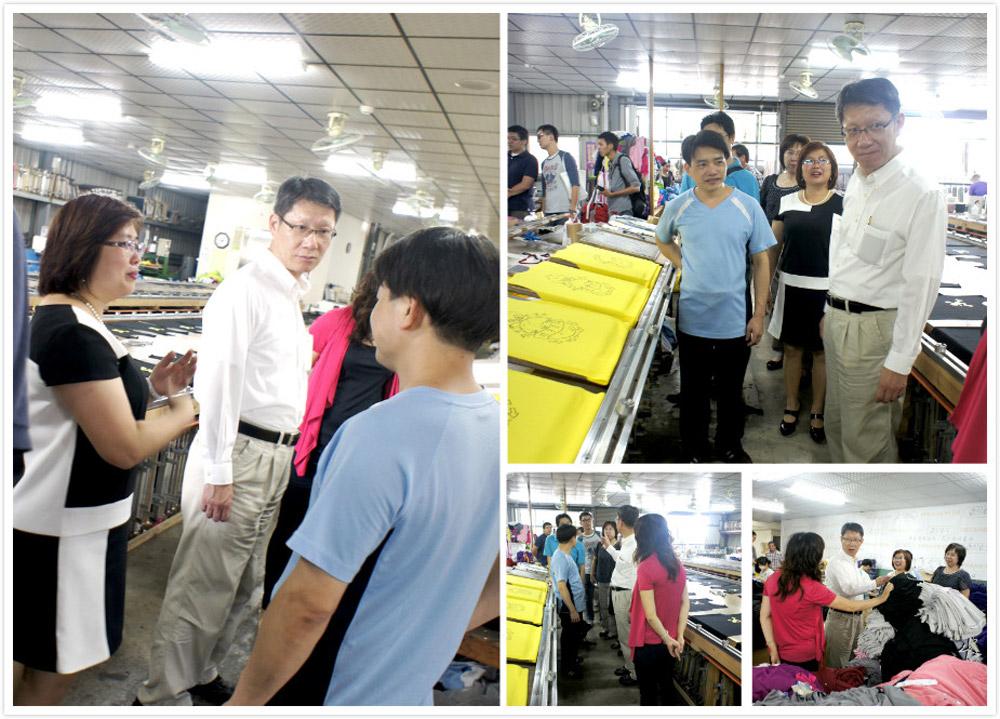 經濟發展局 葉惠青局長蒞臨企業參訪