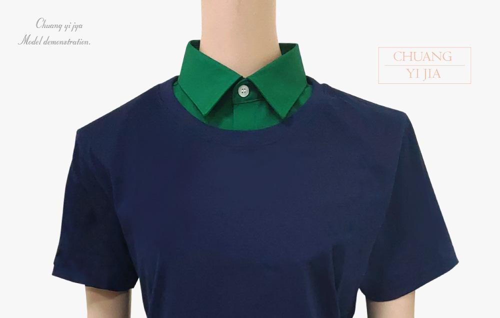 創意家團體服,台灣生產製造,襯衫假領,假領,時尚配件