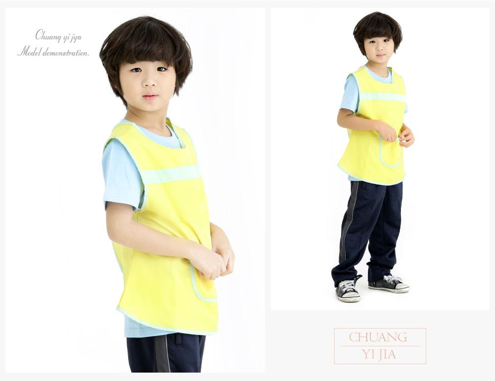 防水圍兜,防髒圍兜,兒童圍兜,幼兒圍兜,創意家團體服,台灣生產製造,圍兜,幼兒園圍兜