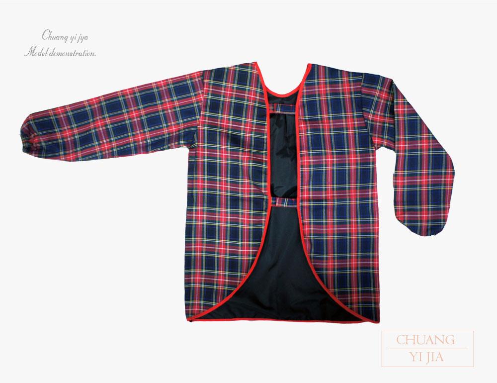 防水圍兜,防髒圍兜,兒童圍兜,幼兒圍兜,創意家團體服,台灣生產製造,長袖圍兜圍兜,幼兒園圍兜