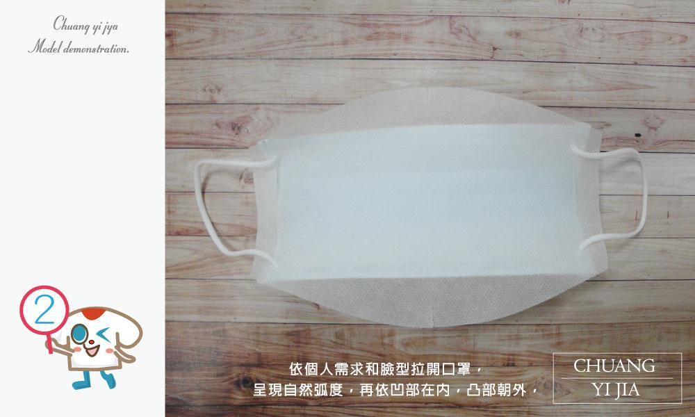 創意家防塵布口罩濾材