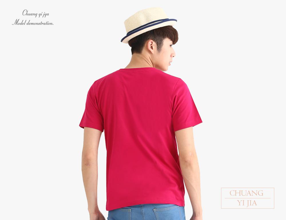 純棉T恤圓領短袖男版
